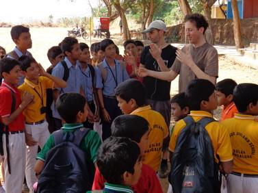 Mangalore Joyland School with Albin Paulus und Peter Natterer 2015