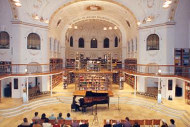 Klavierabend Bibliothek Bludenz, Vorarlberg