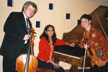Mürzzuschlag - Klaviertrio mit Clara und Christophe Flieder -Brahms Museum - 1993